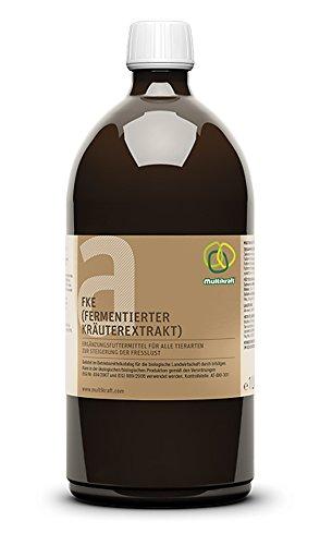 FKE a, Fermentierter Kräuterextrakt für alle Tierarten, 1 Liter Flasche von Multikraft