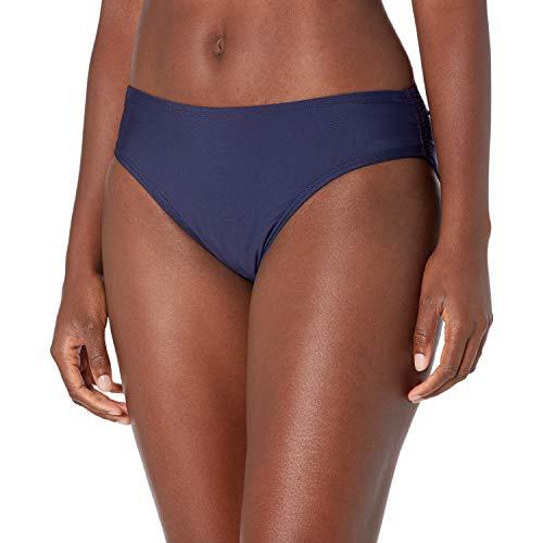 Calvin Klein Women's Classic Bikini Bottom, DEEP Navy, Large