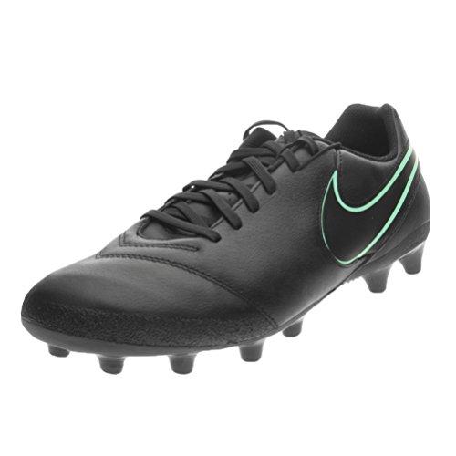 Nike Herren Tiempo Genio ii Leather ag-pro Fußballschuhe, Schwarz, 42.5 EU