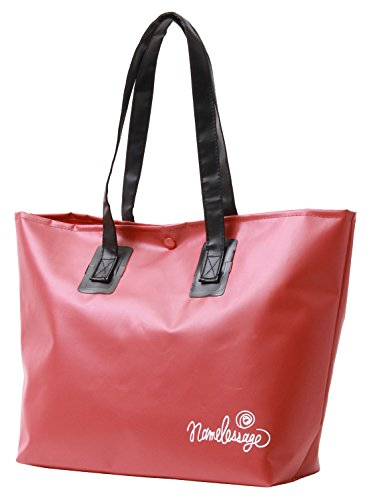 namelessage(ネームレスエイジ) 防水 ターポリン バッグ NAB-1700 RD FREEサイズ トートバッグ BAG ビーチバッグ ビニールバッグ 海水浴 プール バッグ かばん 鞄 レッド 赤色