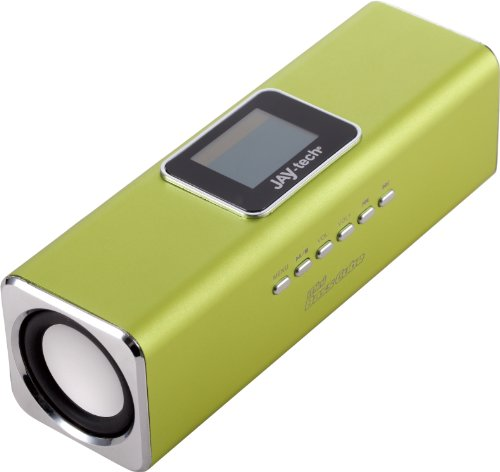 Jaytech 77002496 Bluetooth Mini Bass Cube aktiv-Lautsprecher (1 Stück, 3,5mm Klinke, USB)