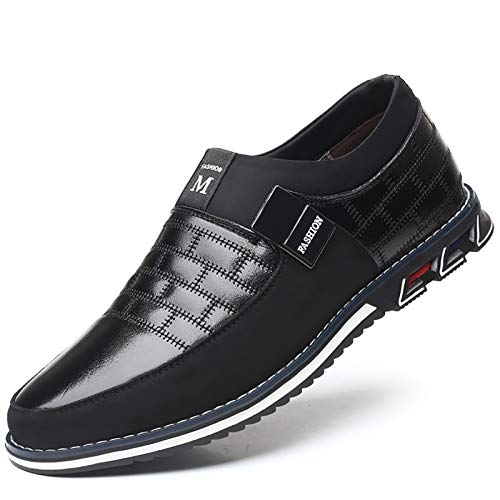Black Genuine Leather Shoes for Men