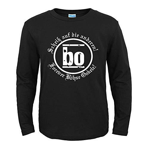Bohse Onkelz - Camiseta de Manga Larga para Hombre