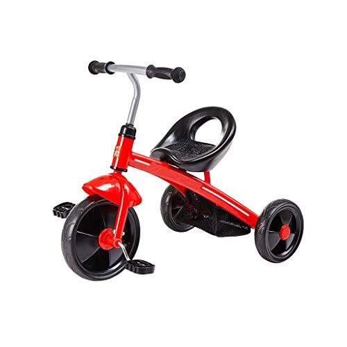 GYF / Juguetes de Montar al Aire Libre de Interior fácil 3-6 años de Edad, de Transporte Triciclo bebé de 30 kg for soportar Las