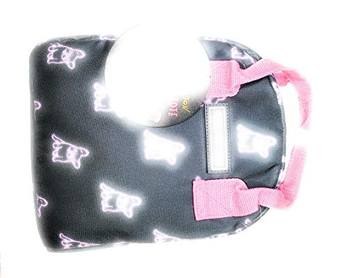 Betsey Johnson Insulated Lunch Tote w/Print Hot Pink One Size