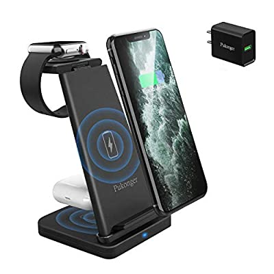 Qi-Certified Fast Wireless Charger Dock