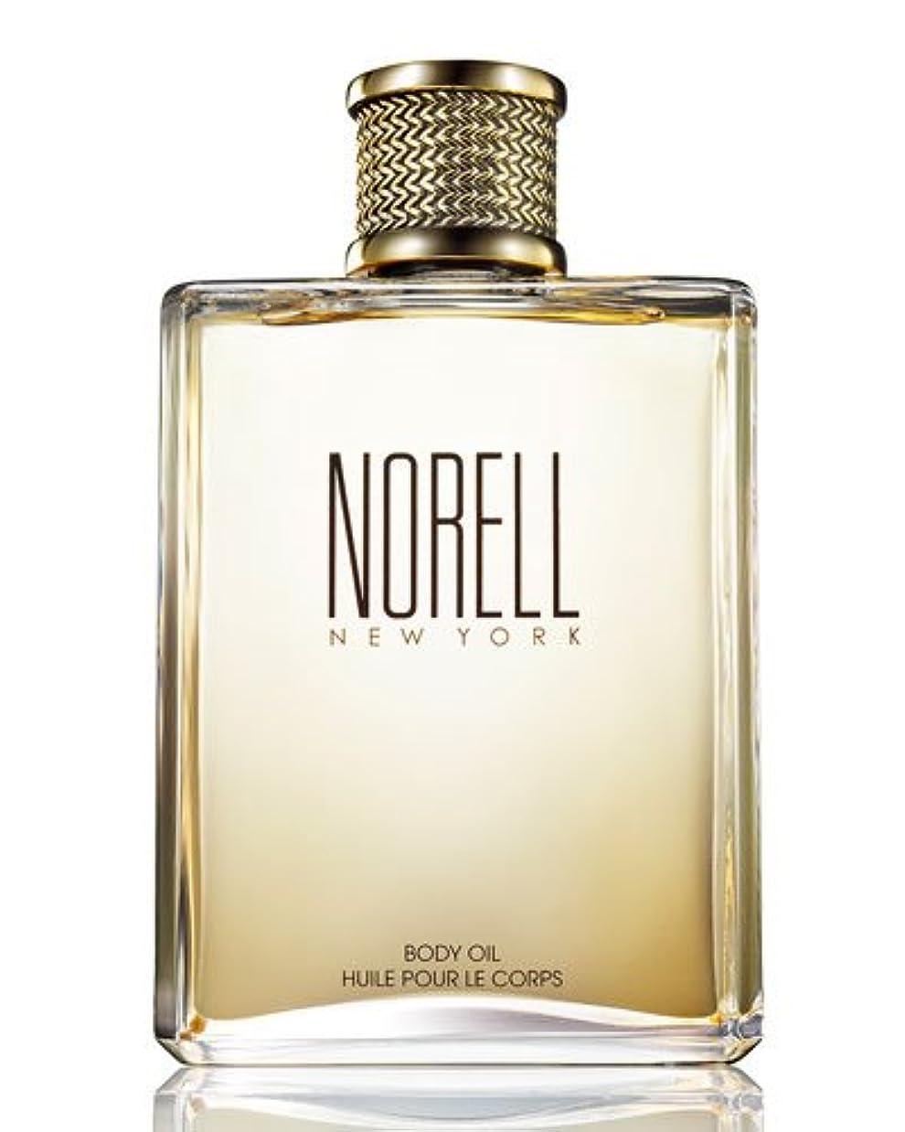 テレビを見るに頼る自動的にNorell (ノレル) 8.0 oz (240ml) Body Oil by Norell New York