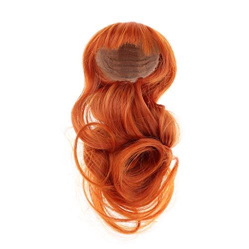 Schöne Puppe Perücke Haare Frisur Haarteil Für 1/4 Xinyan Puppen Make-up Zubehör - Karottenartig