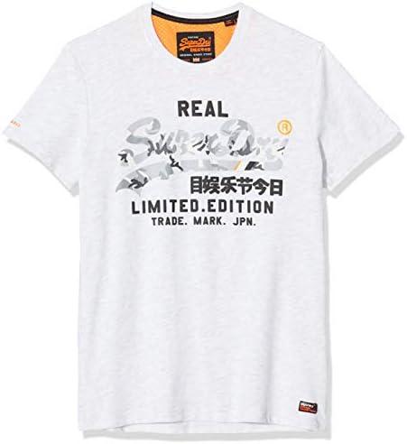 Superdry Vintage Logo Fero tee Camiseta de Tirantes para Hombre