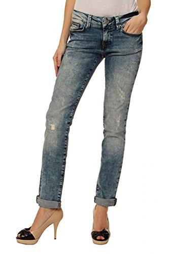 Mavi Jeans Damen Jeans Skinny Boyfriend Jeans Emma Slim Boyfriend, Farbe: Blau, Größe: 30/33