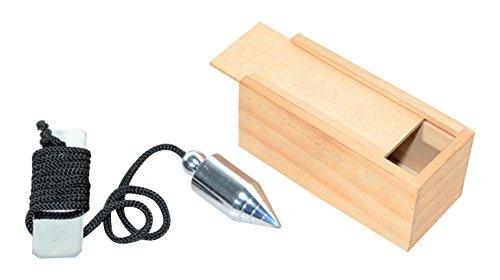 Hilo de plomo para uso médico, con caja de madera, 150 cm de largo