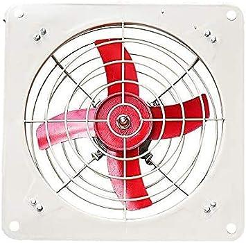 HEZHANG Ventilador de Pie de Pedestal, Ventilador de Escape a Prueba de Explosiones Silencio Industrial Ventilador Potente a Prueba de Explosiones Ventilador de Escape Cuadrado con Contraventanas