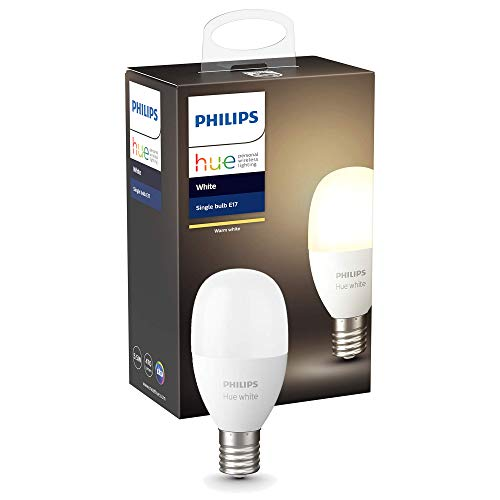 Philips Hue ホワイトシングルランプE17(電球色) |2700K E17スマートLEDライト1個|【Amazon Echo、Google Home、Apple HomeKit、LINE対応】