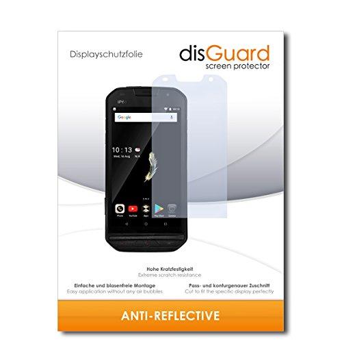 disGuard® Bildschirmschutzfolie [Anti-Reflex] kompatibel mit Doogee S30 [2 Stück] Entspiegelnd, Matt, Antireflektierend, Extrem Kratzfest, Anti-Fingerabdruck - Panzerglas Folie, Schutzfolie