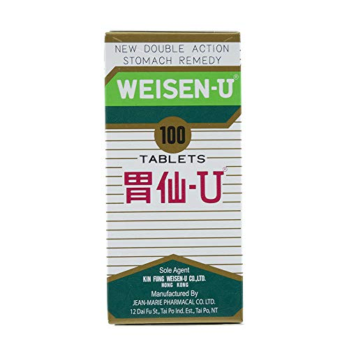 Weisen-U Stomach Remedy (100 Tablets)