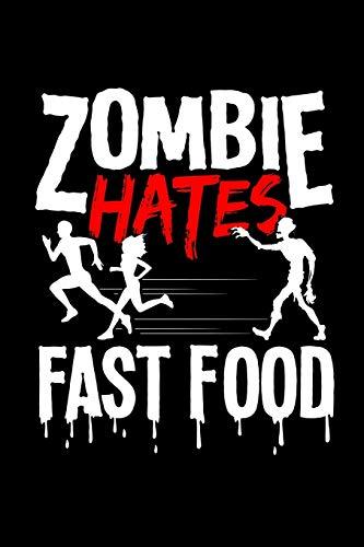 Notizbuch: Kalender 2020 Halloween Zombie Fast Food Lustig Kostüm Geschenke 120 Seiten, 6X9 (Ca. A5), Jahres-, Monats-, Wochen- & Tages-Planer