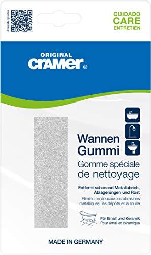 Wannen-Gummi, schonende Reinigung von hartnäckigen Ablagerungen an Badewannen u.v.m.