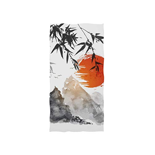 CPYang Toalla de mano vintage japonesa tradicional, muy absorbente, para casa, cocina, baño, gimnasio, natación, spa