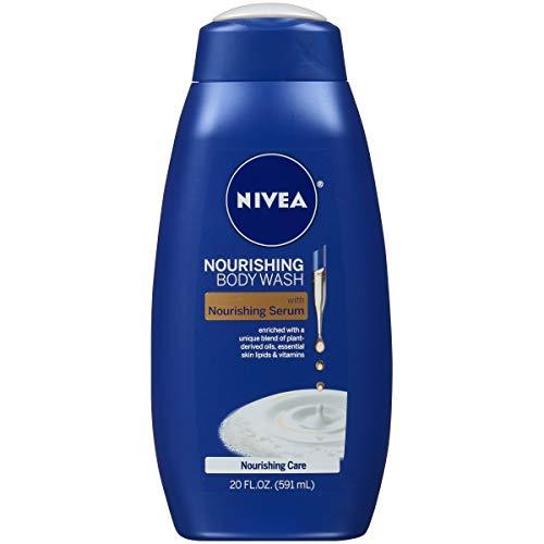 NIVEA Nourishing Care Body Wash with Nourishing Serum, 20 Fl Oz