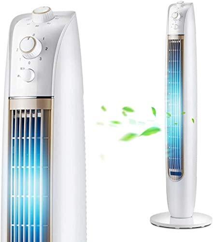Desktop Stille driedimensionale ventilator, Verticale luchtkoeler voor huishoudelijk gebruik, Scheidbaar links en rechts, Makkelijk schoon te maken, Draagbaar voor slaapkamer Kantoor, Slaapzaal