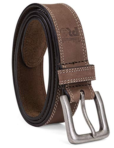 Timberland PRO Men's 38mm Boot Leather Belt, Brown, 36