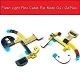 Flash Light Flex Cable for Motorola Moto G4 G4 Plus XT1642 Light Proximity Sensor PCB Flash Lamp Flex Ribbon Replacement Repair