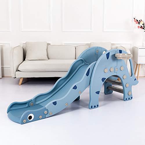 Avior Kids Dinosaurierrutsche, Blau, Kinderrutsche Gartenrutsche
