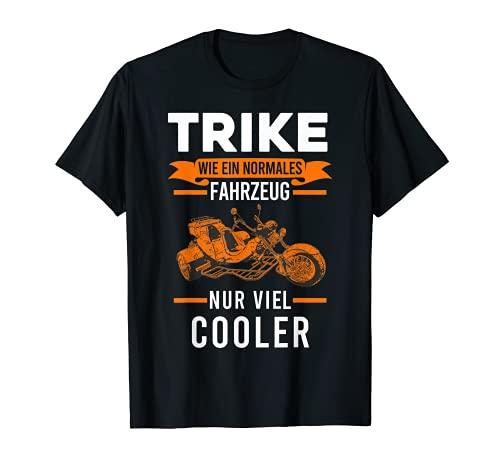 Trike Triker Motorrad Dreirad T-Shirt