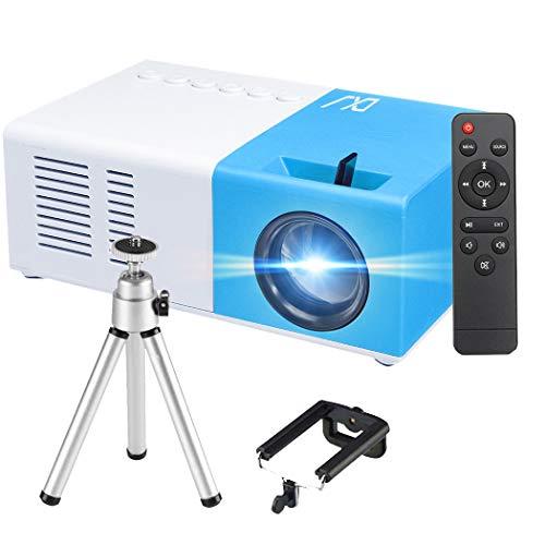 Mini Projecteur, 1080P Fulll HD Supporté 3000 Lumens Portable...