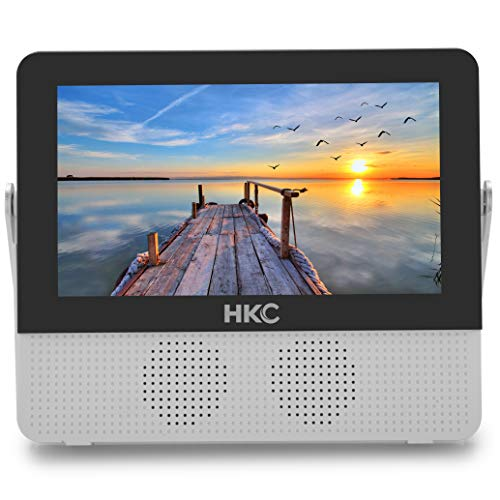 HKC P7H6 Mini TV portátil TV HD 7 Pulgadas HDMI +