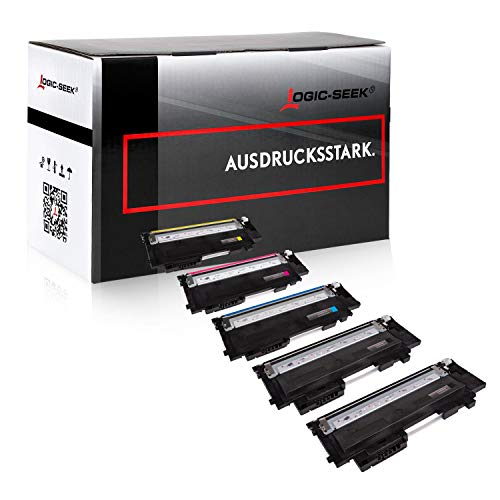 5 Logic-Seek Toner [MIT CHIP] kompatibel mit HP W2070A - W2073A für HP Color Laser 150 a 150 nw 150 Series MFP 170 Series MFP 178 nw MFP 178 nwg MFP 179 FNG MFP 179 fnw
