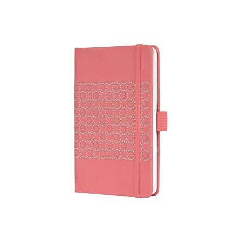 SIGEL J0202 Wochenkalender Jolie 2020, ca. A6, rosefarben, samtig-weiche Oberfläche - weitere Modelle