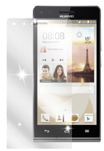 dipos I 2X Schutzfolie klar kompatibel mit Huawei Ascend G6 Folie Bildschirmschutzfolie