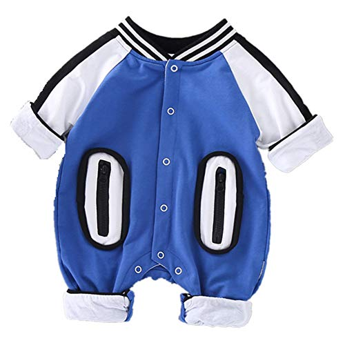 RACHAPE Newborn Jumpsuit Baby Rompers Cotton Infant Unisex Outfit Spring Clothes Best Gifts for Little Boy Girls 3-12 Months