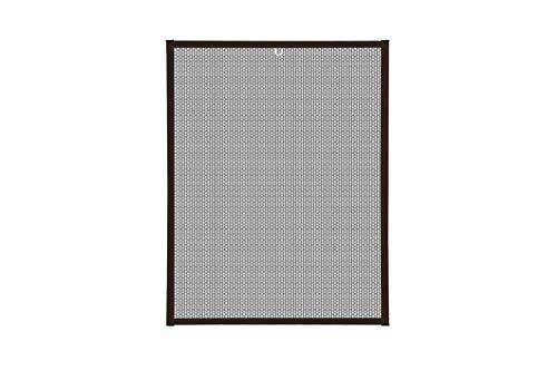 empasa Respilon Pollenschutz Feinstaub Fliegengitter Fenster Insektenschutz Alu Rahmen in weiß, braun oder anthrazit als Selbstbausatz