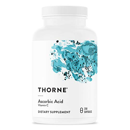 Thorne Research - Ascorbic Acid (1 Gram) - Vitamin C Supplement for Antioxidant Support and Healthy Immune Function - 250 Capsules