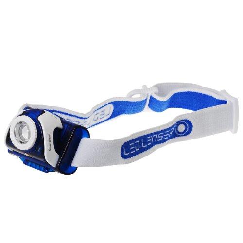 Zweibrüder Led Lenser SEO 7R - Linterna frontal recargable Azul 6107