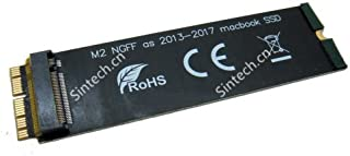 Sintech NGFF M.2 nVME SSD Adapter Card for Upgrade 2013-2015 Year Macs(Not Fit Early 2013 MacBook Pro)