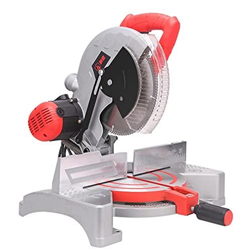 Multifunctional Power Tool Wood Aluminum Profile Cutting Machine Mitre Saw 10 inch Compound Sliding 2000W Single Bevel Cut