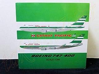 未展示未組立 1/200 JCウイングスWings キャセイ.パシフィック.航空 旧塗装 ボーイングB747-400 ZK-NBS 登録1989.12型式747-419