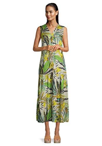 Betty Barclay Damen 1541/2180 Kleid, Green/Green, 46