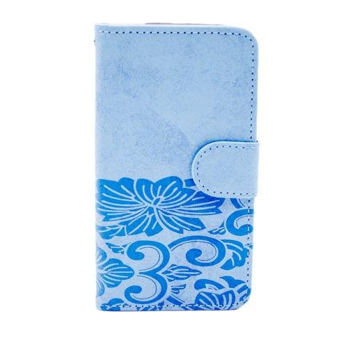 Kircher HTC Desire 10Pro Fall, Leder Brieftasche Flip Tasche Fold Ständer Schutzhülle für HTC Desire 10Pro, Color Blue