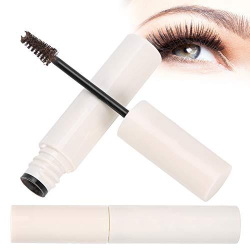 Makeup Brow Tint mit Mikrofasern, Eyebrow Tint Gel und Brow Filler für Make-up, wasserdicht, langlebig und haarige Augenbrauen(Dunkelbraun)