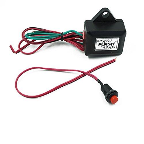 No-Branded Sygjal Interruptores de botón Interruptor Motocicleta Coche eléctrico Relé de Doble...