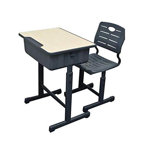 LWW Mesas, Juego de sillas Marco de pedestal de altura ajustable Mobiliario escolar Pedestal para estudiantes Aula Recepción abierta,Gris oscuro