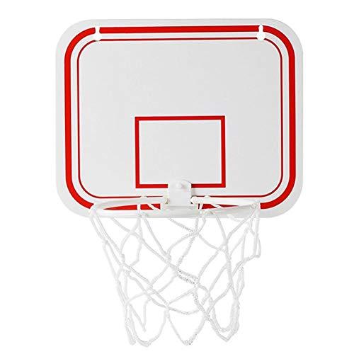 WYHM Durable Tablero de Interior Mini PuñO Deportivo Juguete Sin Rebotes Colgante de Pared Juego de Aro de Baloncesto para NiñOs con Ventosas Completo Accesorios