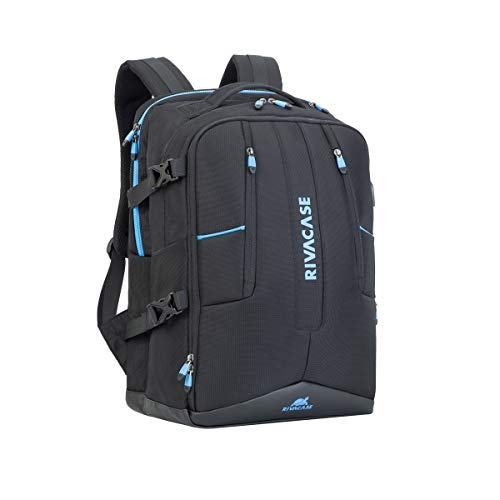 Rucksack Schwarz für Tablet/Laptop 43,9 cm (17.3) | Innenfach für Tablets mit bis zu 10