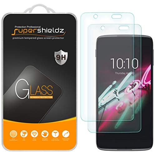 (2 Pack) Supershieldz Designed for BlackBerry DTEK50 Tempered Glass Screen Protector, 0.33mm, Anti Scratch, Bubble Free