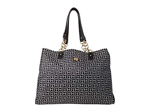 Tommy Hilfiger In Chains Tote Black/White One Size