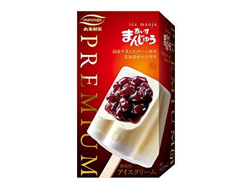 丸永製菓 PREMIUM あいすまんじゅう バニラ 85ml×18箱